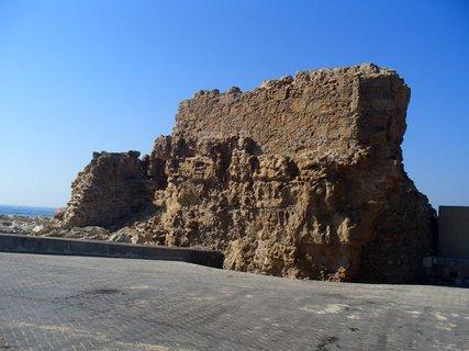 FOTKA - Cyprus - Paphos- časť pevnosti v prístave