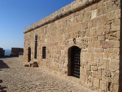 FOTKA - Cyprus - Paphos - na streche pevnosti v prístave