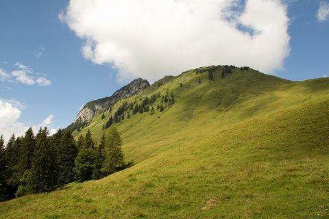 FOTKA - Výšlap na Kallbrunnalm - Okolní kopečky