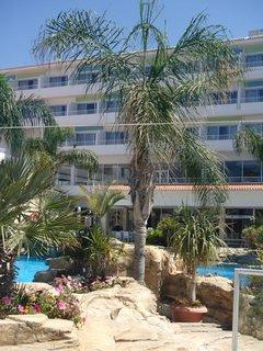 FOTKA - Sentido Cypria Bay - palmy v okolí bazéna