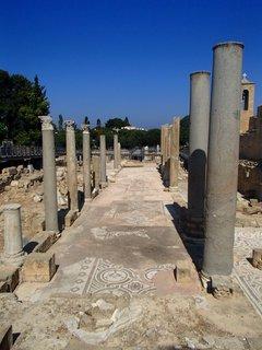 FOTKA - Cyprus - Paphos - zbytky byzantskej baziliky