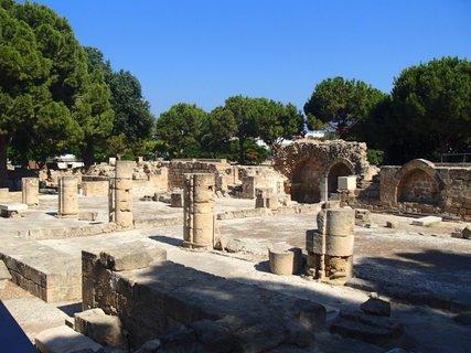 FOTKA - Cyprus - starý Paphos - že vraj časť kúpeľov