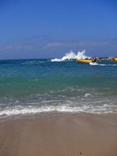 FOTKA - Cyprus - piesková pláž a more