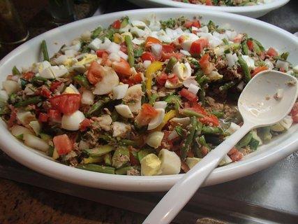FOTKA - Cyprus - zelenina s rybami