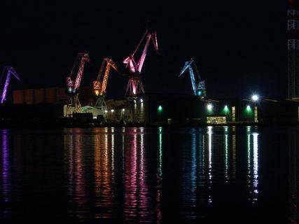 FOTKA - večer v přístavu
