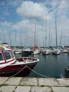 FOTKA - v přístavu, vzpomínka na dovolenou v Chorvatsku