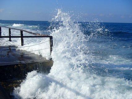 FOTKA - more v jedno r�no