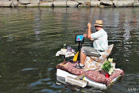 FOTKA - vodní slavnosti- Rozmary na řece