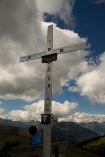 FOTKA - Asitz - Kříž na Velkém Asitzu
