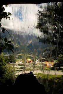 FOTKA - Asitz - Přes vodopád