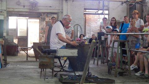 FOTKA - Murano - prohlídka sklárny