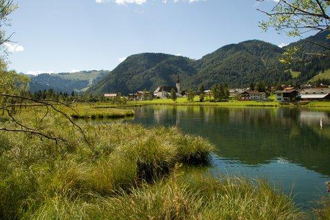 FOTKA - Výlet k Pillersee - Pohled na vesnici