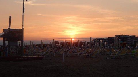 FOTKA - pláž při západu slunce