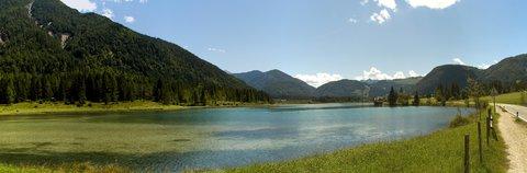 FOTKA - Výlet k Pillersee - Panorama jezera