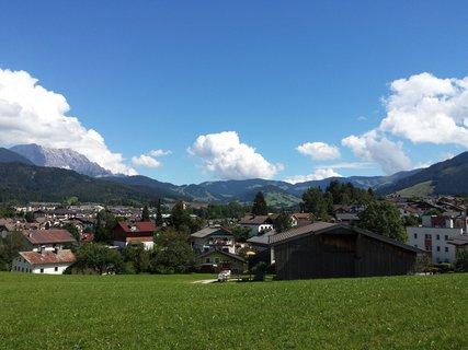 FOTKA - Letní Ritzensee - Pohled na Saalfelden