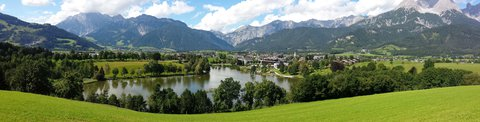 FOTKA - Letní Ritzensee - Panorama jezera