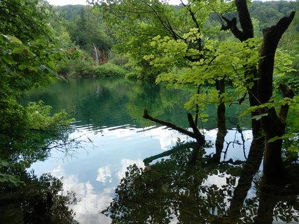 FOTKA - zádumčivá.... vzpomínka na Plitvická jezera (Chorvatsko)