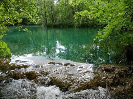 FOTKA - Plitvice - jezera se neustále mění narůstáním travertinových hrází na terasách