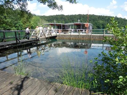 FOTKA - Plitvická jezera - přístaviště parníčků