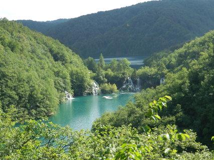 FOTKA - Plitvická jezera z vyhlídky