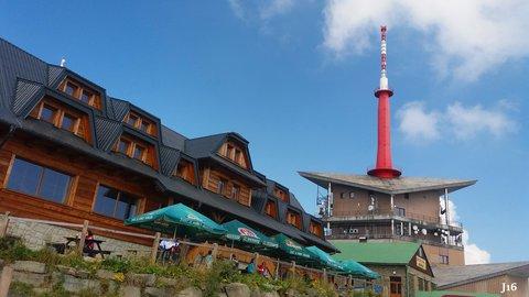 FOTKA - na vrcholu Lysé hory  - 1324 m.n.m.