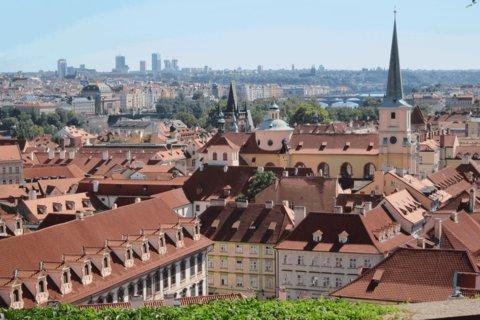 FOTKA - Ze zahrady Pražského hradu - 1. září