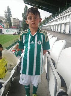 FOTKA - vnuk Pavl�k, fotbalista Bohemians