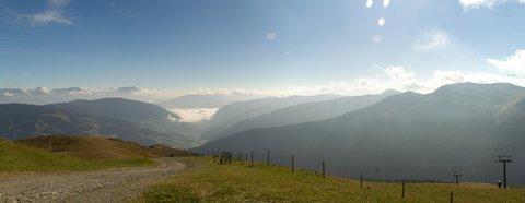 FOTKA - Schattberg - Mlha nad Maishofenem