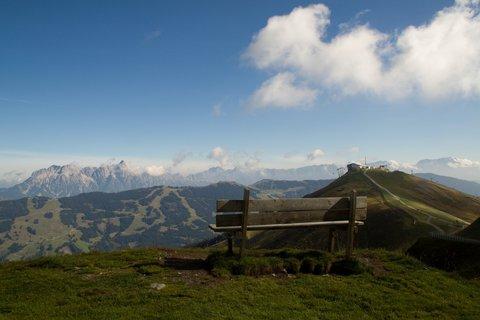FOTKA - Schattberg - Lavička v horách
