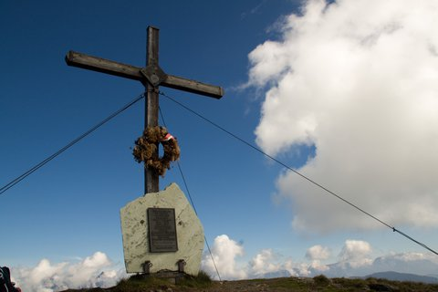 FOTKA - Schattberg - Kříž na Schattberg West