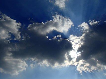 FOTKA - desivá obloha