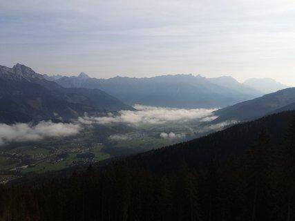 FOTKA - Z Asitz na Geierkogel - Ještě je mlha