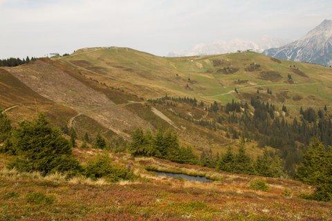 FOTKA - Z Asitz na Geierkogel - Cesta, kterou jsme zatim ušli