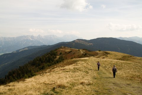 FOTKA - Z Asitz na Geierkogel - Půjdeme dál