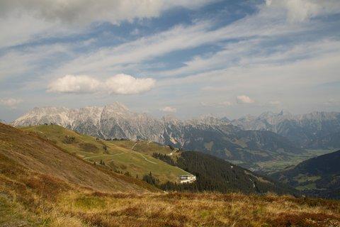 FOTKA - Z Asitz na Geierkogel - Pohled zpátky na Asitz
