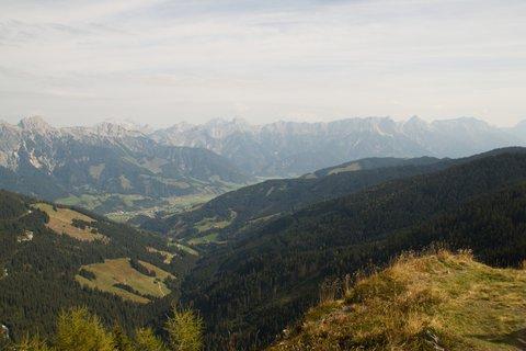 FOTKA - Z Asitz na Geierkogel - Pohled na Leogang