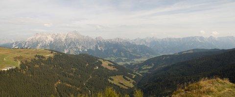 FOTKA - Z Asitz na Geierkogel - Panorama Leoganger Steinberge a Kamenného moře