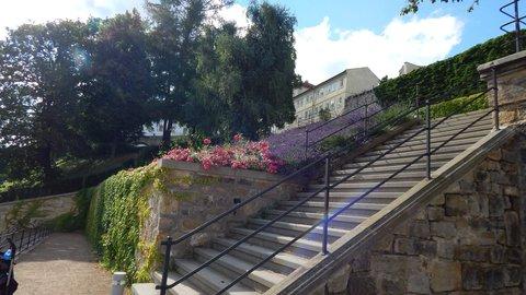 FOTKA - schodiště v zámeckém parku