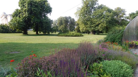 FOTKA - záhony v zámeckém parku