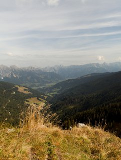 FOTKA - Z Asitz na Geierkogel - Pohled dolů