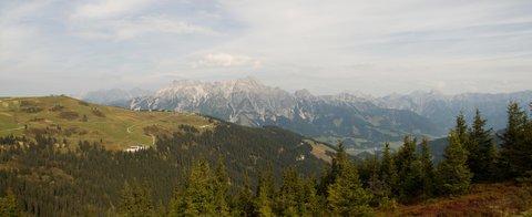 FOTKA - Z Asitz na Geierkogel - Panoramko