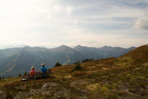 FOTKA - Z Asitz na Geierkogel - Odpočinek v horách