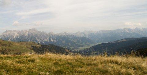 FOTKA - Z Asitz na Geierkogel - Panorama okolí