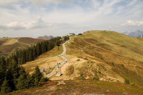 FOTKA - Z Asitz na Geierkogel - Cesta zpátky
