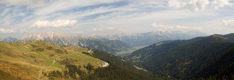 FOTKA - Z Asitz na Geierkogel - Údolí Leogangu