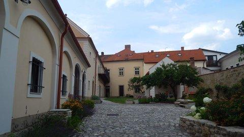 FOTKA - dvorek v hist. centru Kutné Hory