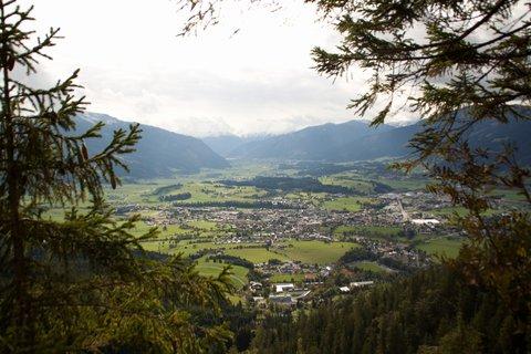 FOTKA - Poslední letošní výšlap na Steinalm - Pohled na Saalfelden