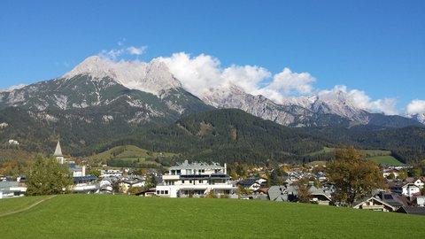 FOTKA - Podzimní procházka okolo Ritzensee - Steinernes Meer