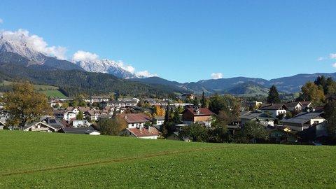 FOTKA - Podzimní procházka okolo Ritzensee - Saalfelden směrem k Maria Alm