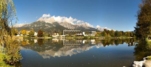 FOTKA - Podzimní procházka okolo Ritzensee - Zrcadlení